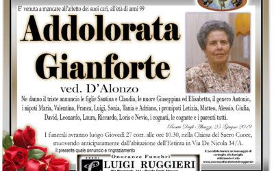 Addolorata Gianforte