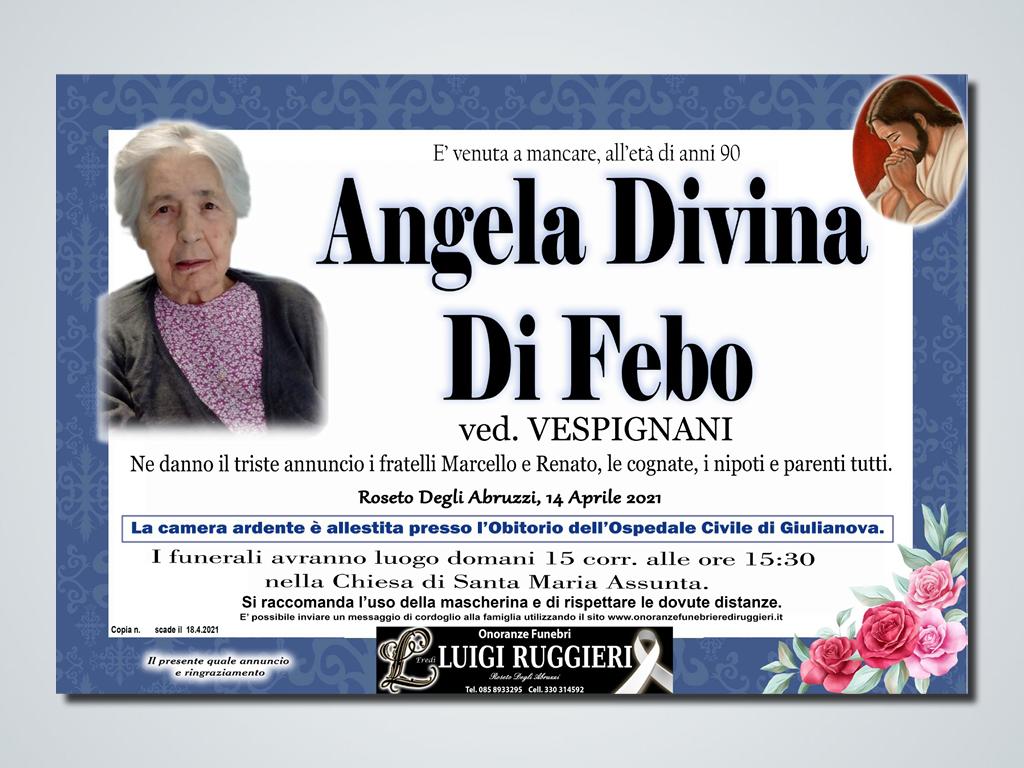 Roseto degli Abruzzi – Angela Divina Di Febo