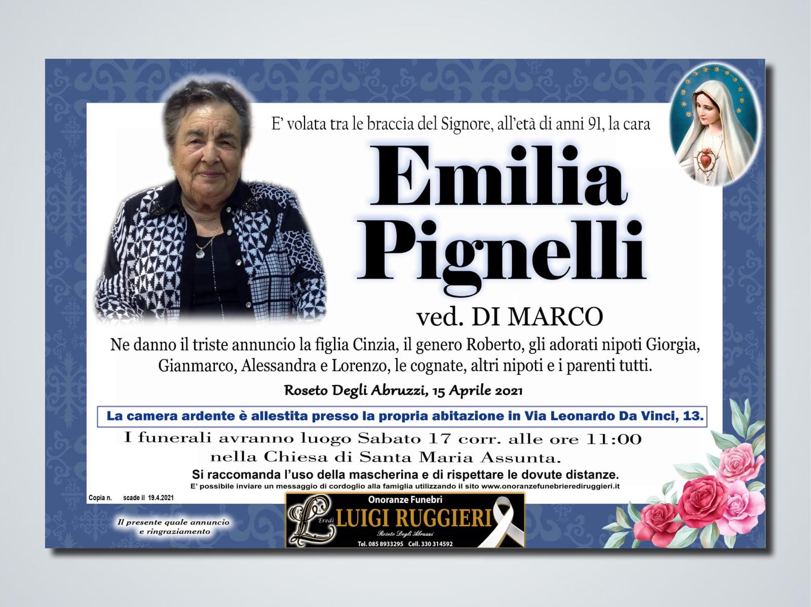 Roseto Degli Abruzzi – Emilia Pignelli