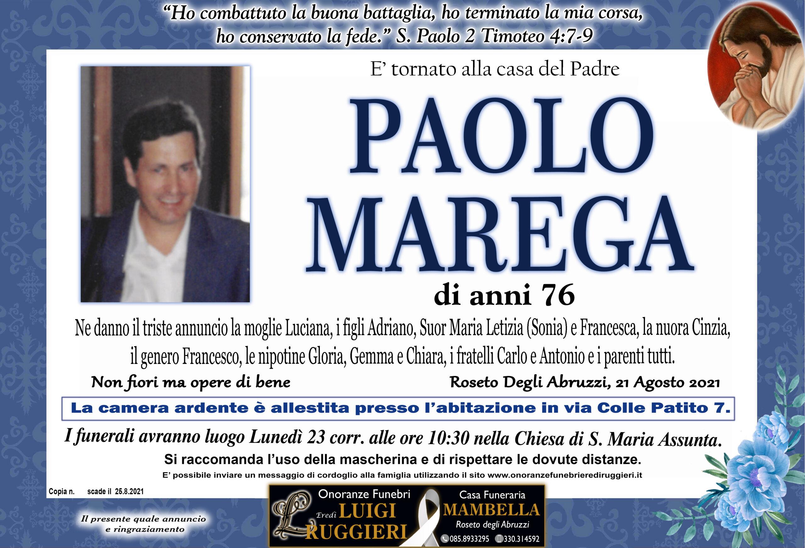 Paolo Marega