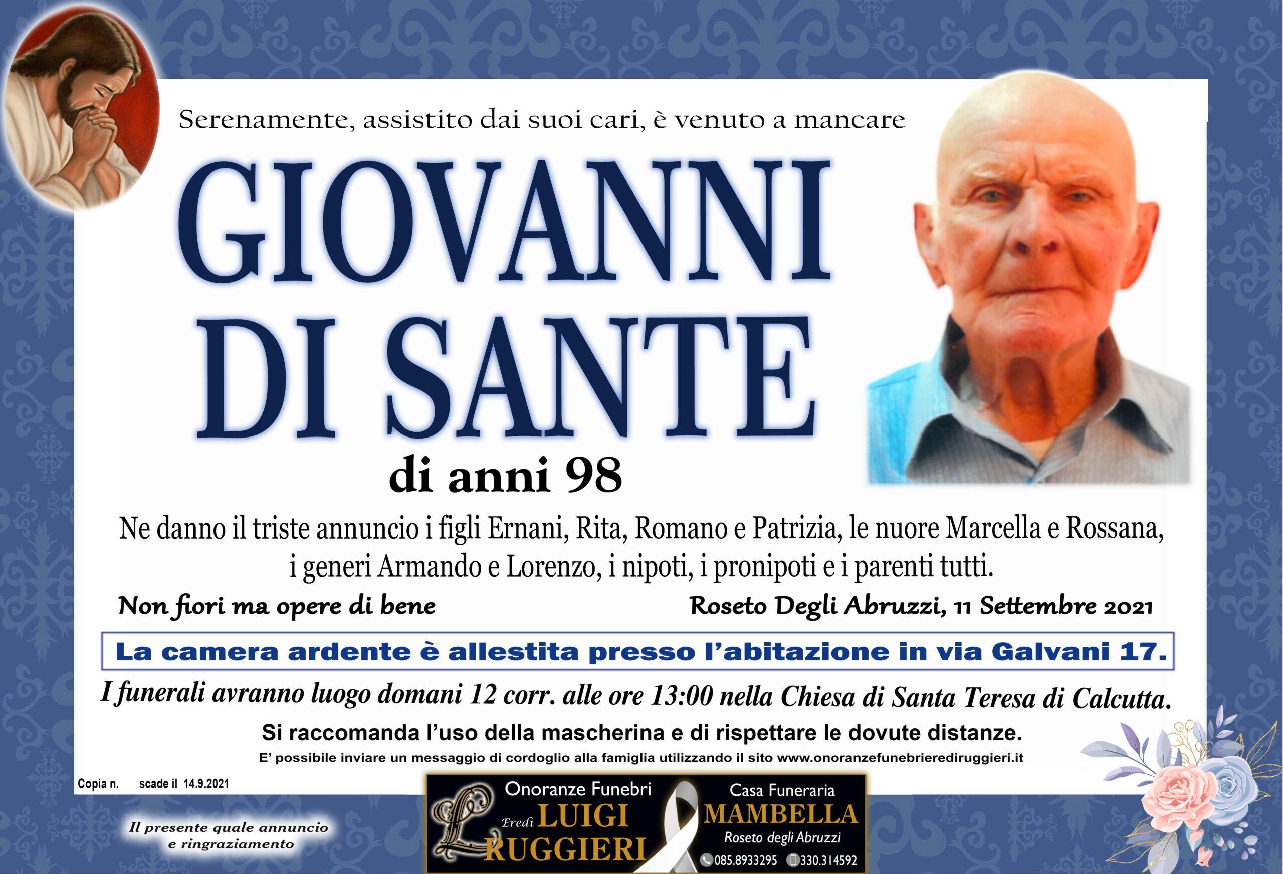 Giovanni Di Sante