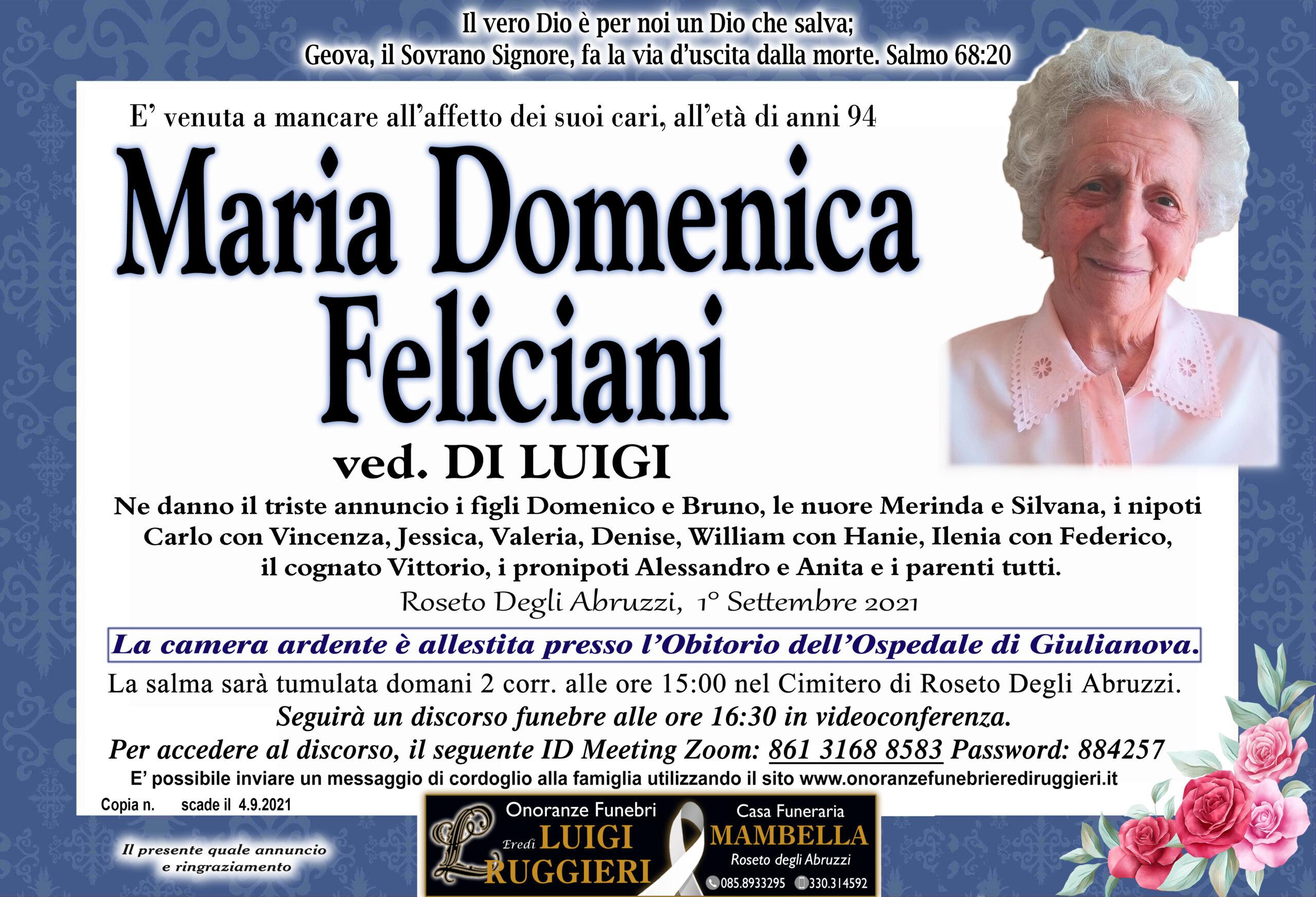 Domenica Feliciani
